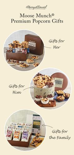 There isn't a sweeter gift to receive than delicious, gourmet popcorn!
