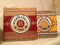 Roger & Gallet perfumed soap via @cjjharries