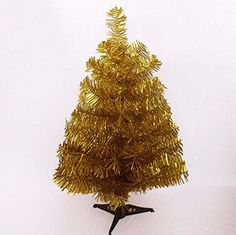 Prettybuy Christmas Tree with Plastic Stand3feetpvc Gold >>> Continue to the product at the image link.