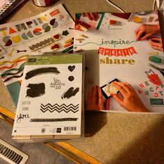 New stamp set in the stampin up catalog 2014/2015 A Work of Art