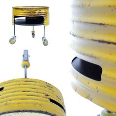 Francois Royer's recycled oil drum furniture