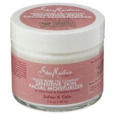 Shea Moisture Peace Rose Oil Complex Sensitive Skin Facial Moisturizer - 2 oz