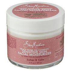 Shea Moisture Peace Rose Oil Complex Sensitive Skin Facial Moisturizer - 2 oz