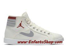 buy popular bcf58 e4032 Air Jordan SKy High OG Chaussures Nike Jordan Pas Cher Pour Homme Blanc  Rouge 819953-