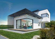 ➤ Klick auf das Bild, um direkt zur Auswahl an Kubushäusern zu gelangen ➤ Dazu findest du ein großes Angebot von Häusern aller Art auf ___ www.Fertighaus.de ___ Cubus Haus, Architektur, Hausbau, modern, Design, Flachdach, Bauhaus, Bauhausstil