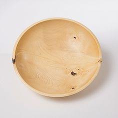 SAN ROQUE ORANGE TREE WOOD BOWLDon Scott Bowls