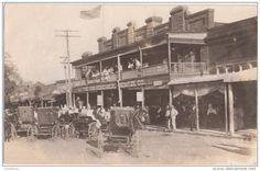 von Rosenberg Heintze store in La Grange in 1910