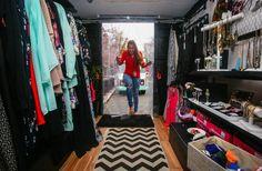 Fashion Truck interior