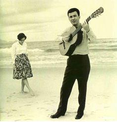 "1958: The Bossa Nova is born in Rio with Joao Gilberto's recording of ""Chega de Saudade."""