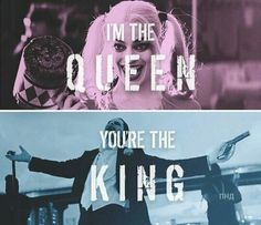 joker, suicide squad, and harley quinn image She Was His Queen, Joker Love Quotes, Harley And Joker Love, Dc Comics, Daddys Little Monster, Joker Wallpapers, Batman Universe, Dc Universe, Superhero Movies