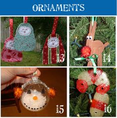 Easy Christmas Ornaments Crafts for Kids