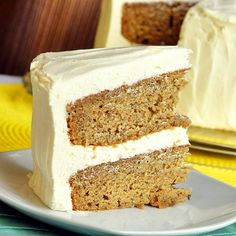 Sticky Toffee Banana Cake with Cream Cheese Frosting - likely the best use of over ripe bananas ever invented. Take those speckled bananas off the counter top and get busy...we all know you're staring at them right now!