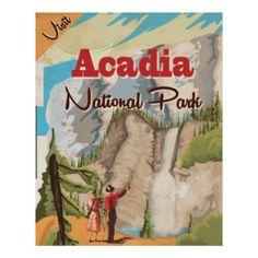 Vintage National Park Posters | Zazzle