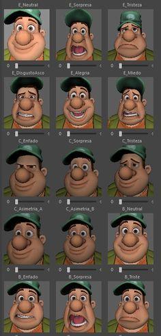 Braulio Animum Facial Expressions 1