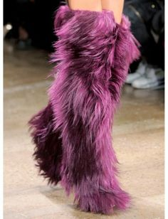 The 10 Craziest Shoes From the Fall 2013 Runways : Lucky Magazine
