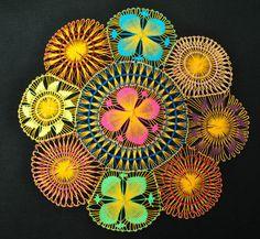 Yellow 33 cm Nanduti | eBay