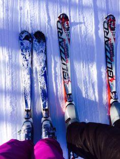 Ski - auf dem Lift Rubber Rain Boots, Ski