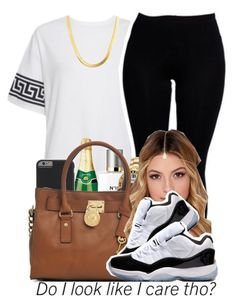 """""""."""" by para-diceee ❤ liked on Polyvore featuring Boohoo, Chanel, Case-Mate, Invicta, Michael Kors and Concord"""