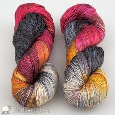 Handmaiden Sea Silk in Puffin Colourway. So unbelievably gorgeous!!!