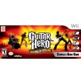 Wii Guitar Hero World Tour Band Kit (Accessory)By Activision Inc. Hero World, Video Games, Guitar, Teen, Tours, Paddles, Band, Water Sports, Archery