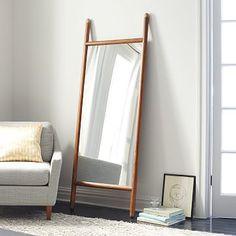 Mid-Century Dowel Mirror