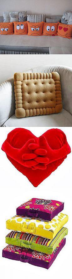 Необычные прикольные подушки