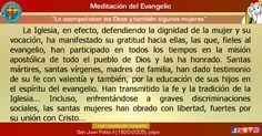 """MISIONEROS DE LA PALABRA DIVINA: MEDITACIÓN DEL EVANGELIO - """"Lo acompañaban los Doc..."""