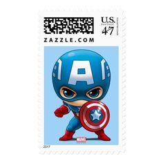Shop Captain America Stylized Art Postage created by avengersclassics. Personalize it with photos & text or purchase as is! Superhero Gifts, Superhero Logos, Captain America Shield, Star Logo, A Cartoon, Marvel Comics, Marvel Avengers, Birthday Cards, Best Gifts