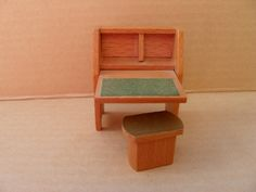 Self Assemble Furniture vintage dollhouse furniture wood kit self assemble miniature mini