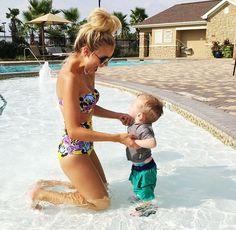 Brincadeira na piscina ... não tem igual.
