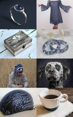 Blue and grey christmas gift idea by Svetlana Pershina on Etsy--Pinned with TreasuryPin.com