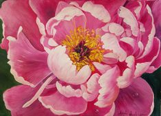 Join Angela Anderson on Patreon to get access to this post and more benefits. Painting Flowers Tutorial, Poppy Flower Painting, Flower Drawing Tutorials, Peony Painting, Acrylic Painting Flowers, Simple Acrylic Paintings, Acrylic Painting Techniques, Flower Art, Peony Flower Pictures