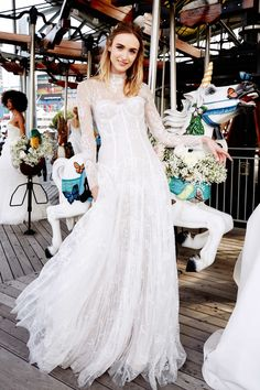 Traditional styles not for you? You'll love these wickedly stylish wedding dresses.