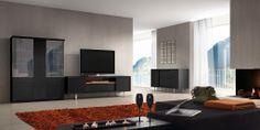 Los colección de salón comedor Ona ofrece detalles para conseguir muebles atractivos, robustos y de calidad.