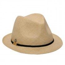 Chapéu Panamá Feminino Alice Bege Acessórios Para Cabeça 70a35dec162