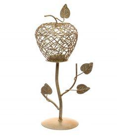 Decotown Ağaç Desen Ahşap Mumluk  Ürün Ölçüleri:  En: 12 cm Boy:12 cm Yükseklik : 30 cm  Malzemeler:  Metal