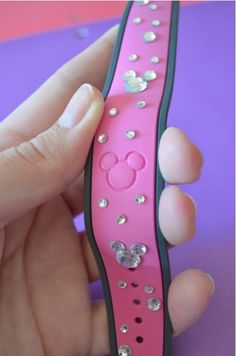 Ideas to add a little bling to your Walt Disney World Magic Band