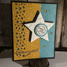 Stampin' Up! Going Global stamp set, Going Places Designer series paper from the upcoming 2016 Occasions Catalog.