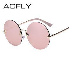 trendy glasses frames for women rimless sunglasses Round Sunglasses, Mirrored Sunglasses, Sunglasses Women, Vintage Sunglasses, Women's Sunglasses, Sunglasses Online, Glasses Frames Trendy, Hairstyles With Glasses, Womens Glasses
