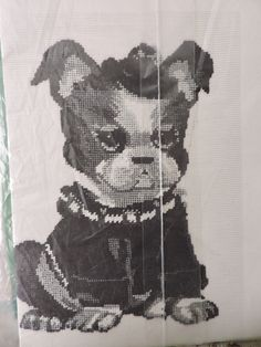 Butch the Bulldog Jean McIntosh Dog Petit Point Needlepoint Chart Only Vintage No. M-39 Cute Little Puppy Love Made in Canada Chart Only Sewing Patterns For Kids, Vintage Sewing Patterns, Cute Little Puppies, Puppy Love, Needlepoint Designs, Raggedy Ann And Andy, Cross Stitch Designs, Best Dogs, Needlework