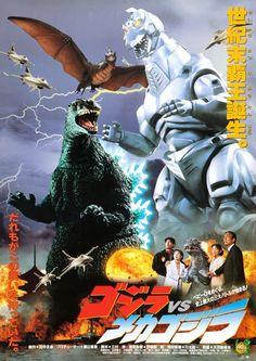 60 years worth of Toho Godzilla posters