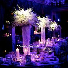 Set of 10 Table top chandelier centerpiece by FashionProposals, $699.00