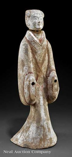 Han Dynasty Court Lady Figure