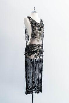 Fierce 1920s Sheer Overdress.