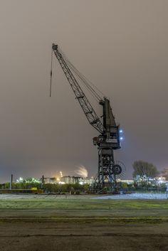 Hamburg Foto alter Verladekran im Hamburger Hafen | Bildschönes Hamburg