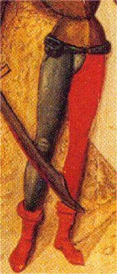 - OPUS INCERTUM - : LAS CALZAS (II) en el hombre de la Baja Edad Media