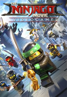 The Lego Ninjago Movie Video Game Poster Video Game Posters, Lego Ninjago Movie, Lego Birthday Party, Got Game, New Poster, Lego Marvel, Legos, Board Games, Videogames