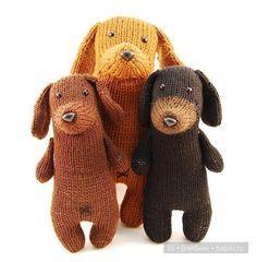 Вязанные маленькие монстрики - авторские игрушки от Rebecca Danger