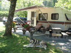 permanent campsite landscaping ideas - Google Search