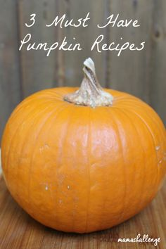 3 Must-Have Core Pumpkin Recipes Homemade Pumpkin Puree, Pumpkin Recipes, Fall Recipes, Pumpkin Spice, Holiday Recipes, Food Out, Good Food, Print Recipe, Fall Baking